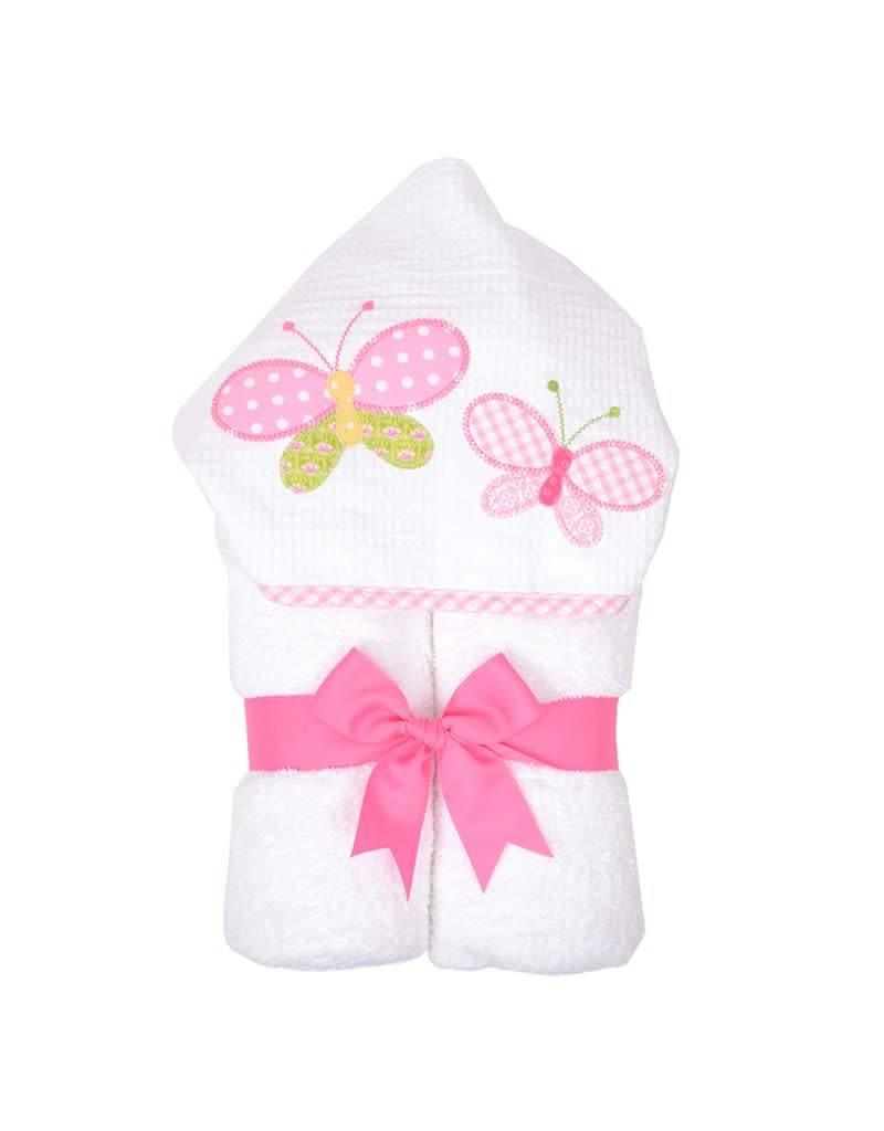 Three Marthas Everykid Towel Butterfly