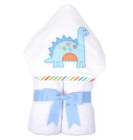 Three Marthas Everykid Towel Dino Dude