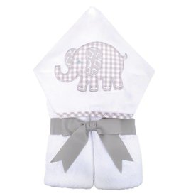 Three Marthas Everykid Towel Grey Elephant