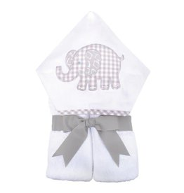 Three Marthas Everykid Towel Grey Elephant