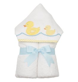 Three Marthas Everykid Towel Yellow Duck