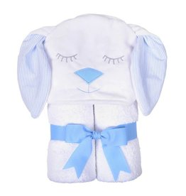 Three Marthas Character Towel Blue Bunny