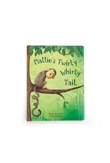 Jelly Cat Mattie's Twirly Whirly Tail Book