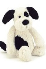 Jelly Cat Bashful Black Cream Puppy Large 14""