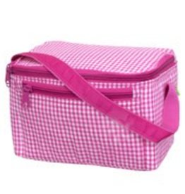 Oh Mint Lunch Box Hot Pink Gingham