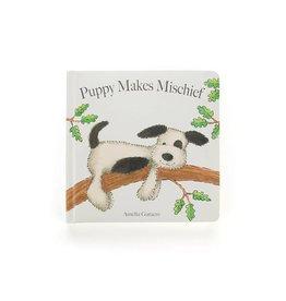 Jelly Cat Puppy Mischief Book