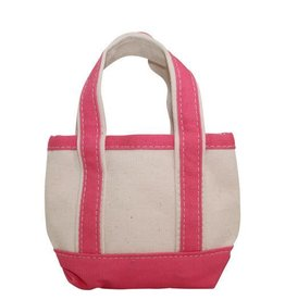 Open Top Tote Pink