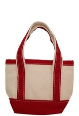Open Top Tote Red