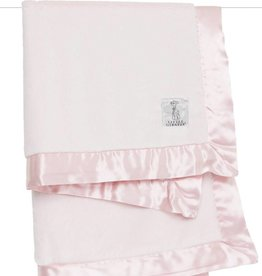Little Giraffe Luxe Blanket Pink