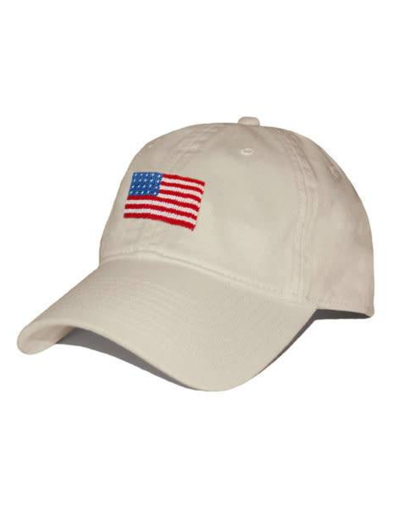 Smather's & Branson Hat American Flag on Stone