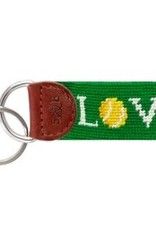Smather's & Branson Key Fob Love All Tennis