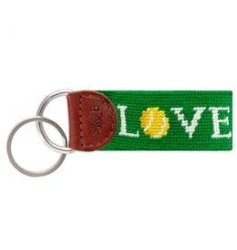 Smather's & Branson Key Fob Love All Tennis