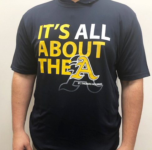 """Catchy Grafixs It's All About the """"A"""" T-Shirt"""