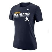 Nike Ladies Nike Navy Dry Fit Tee