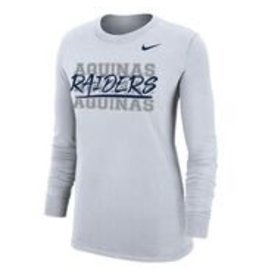 Nike Ladies White Long Sleeve Dry-Fit