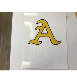 "Catchy Grafixs ""A"" Car Decal"