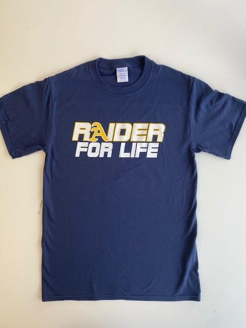 2021-22 Spirit Shirt Raider 4 Life