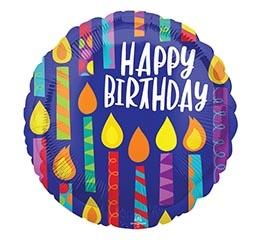 Burton & Burton Round Birthday Balloons $3