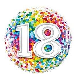 Burton & Burton Balloons-Happy 18th
