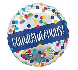 Burton & Burton Balloon-Congratulations