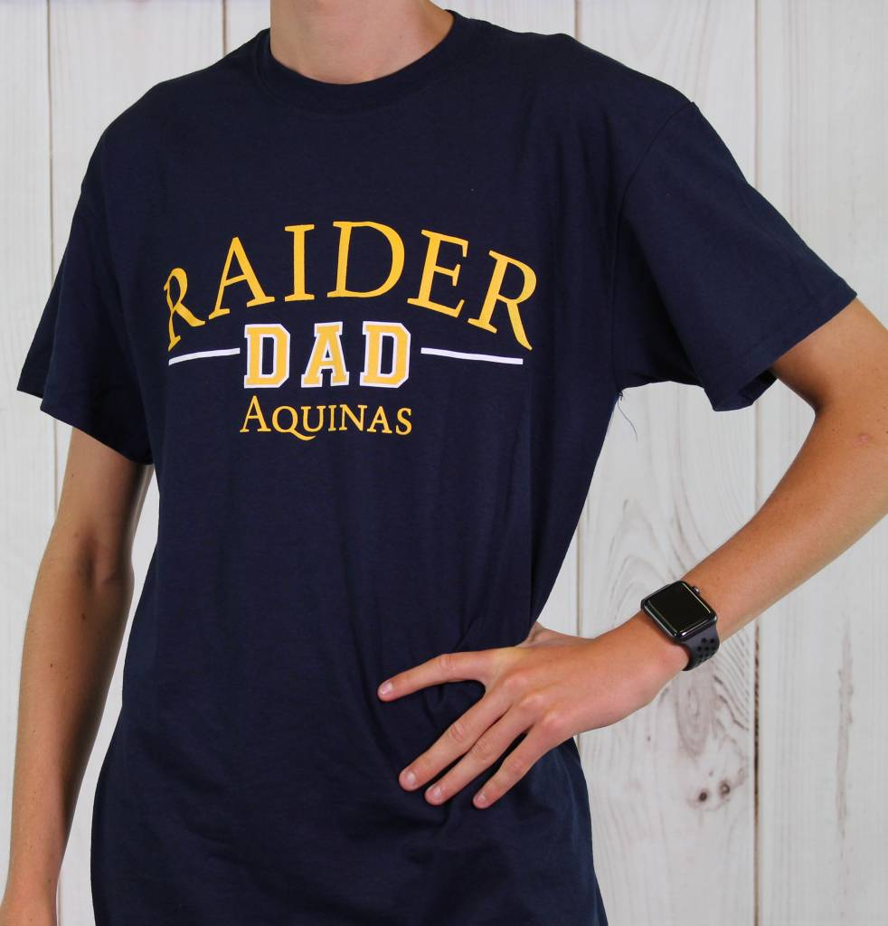 High Impact T-SHirts Raider Dad Shirt