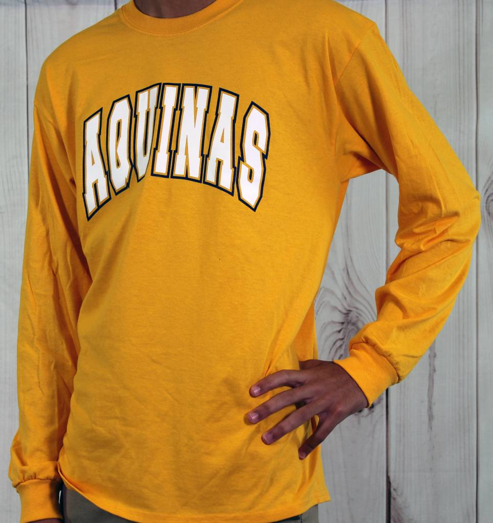 High Impact T-SHirts Aquinas Long Sleeve