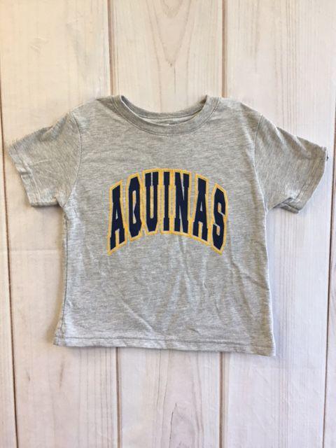High Impact T-SHirts Toddler Aquinas T-shirt Grey 4T
