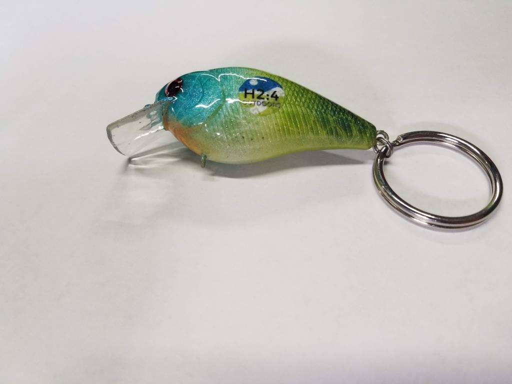 SheAngler Custom Baits H2:4 1.5 Keychain