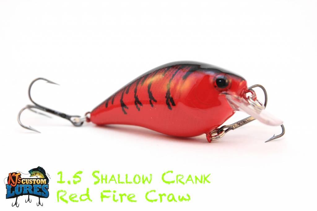KJ's Custom Lures 1.5 Shallow Crank
