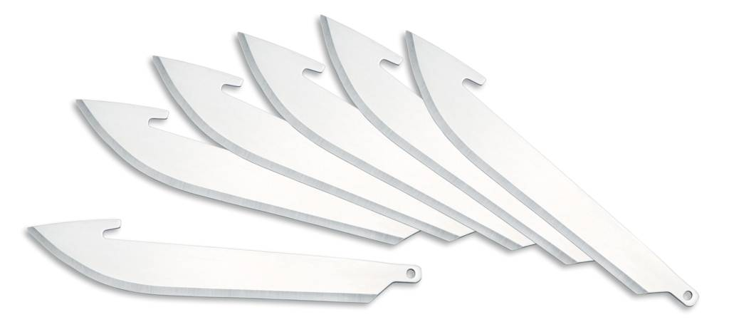Outdoor Edge Replacement Blades-6 Outdoor Edge RR-6 Razor-Lite