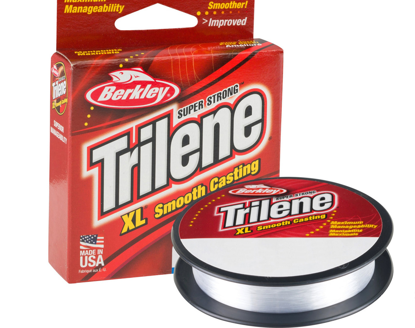 Berkley Berkley Trilene XL Clear 10 lb - 110 yds