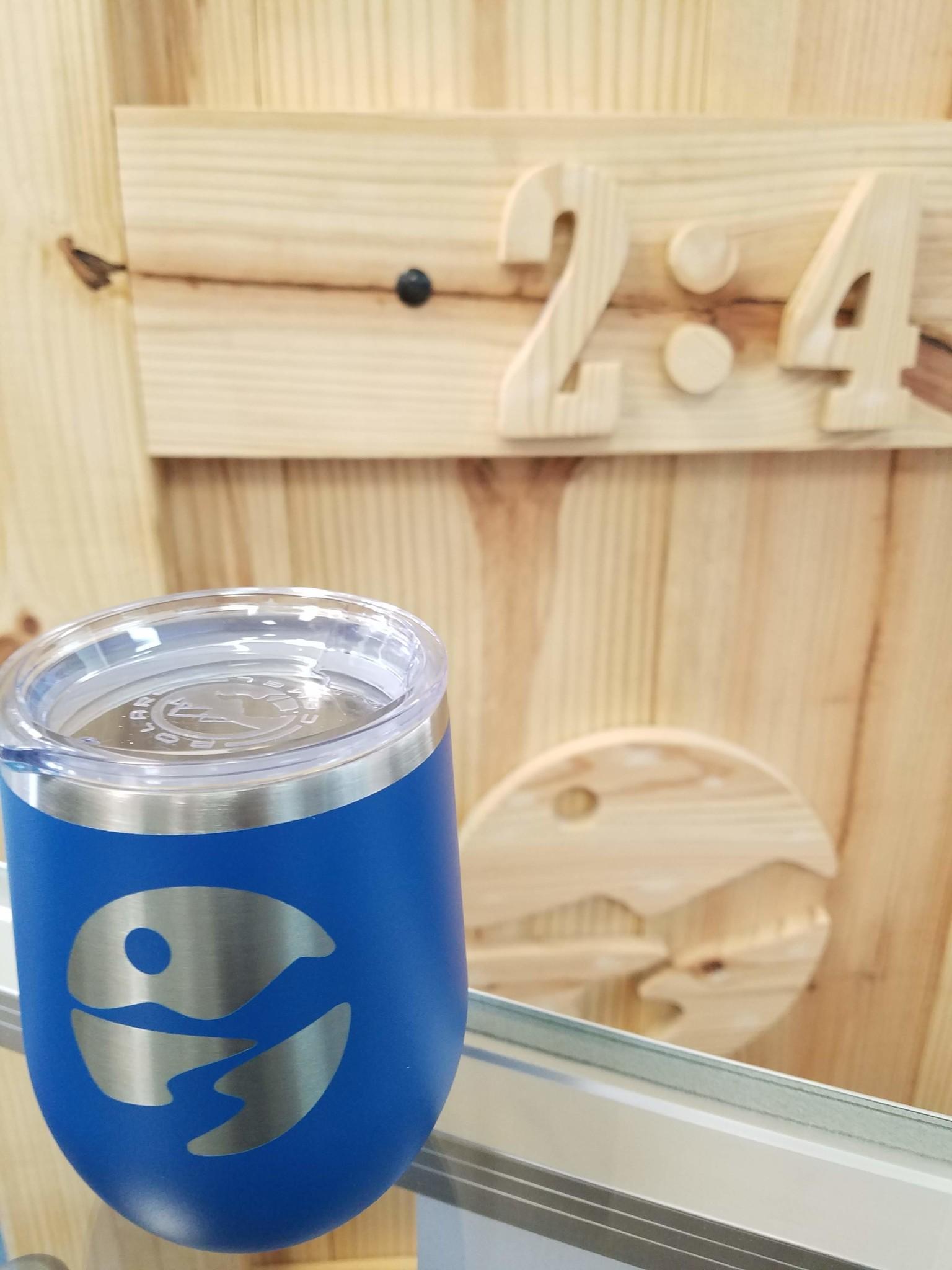 H2:4 CUSTOM BAITS H2:4 Stemless Wineglass Mug