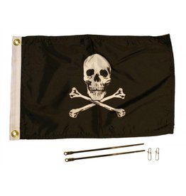 Yakattack JOLLY ROGER FLAG KIT, 12'' x 18''