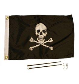 Yakattack JOLLY ROGER FLAG KIT, 12'' x 18''
