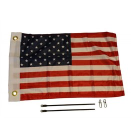 Yakattack American Flag Kit, 12'' x 18''