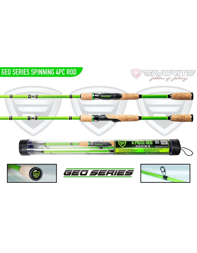 Favorite GEO Kayak Rods