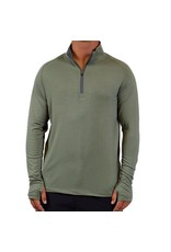 Free Fly Men's Bamboo Midweight Quarter Zip