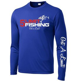 5Limit Fishing Tournament Shirt Big 5Limit Logo