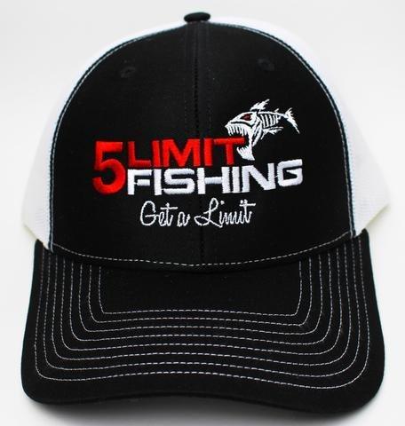5Limit Fishing Fish logo flexfit hat ... 8fda744e0d5