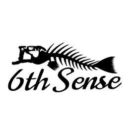 6th Sense Fish Bones Decal