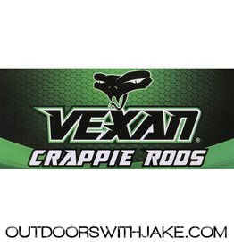 Vexan Crappie Rod Med light 8' 2 piece