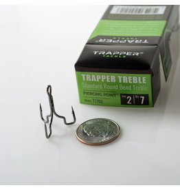 Trapper Tackle Standard Round Treble Hooks