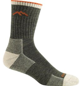 Darn Tough Socks Hiker Micro Crew Sock Cushion Olive Medium