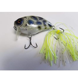 SheAngler Custom Baits Wake Bait Skirted