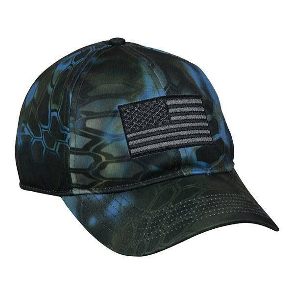 Neptune Camo American Flag Hat - H2 4 Outdoors 0b3b13f80a2