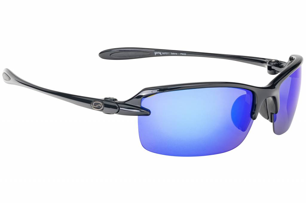 3b54ff4d9a SK Plus Sabine Sunglasses Shiny Black - Revo White Blu - H2 4 Outdoors