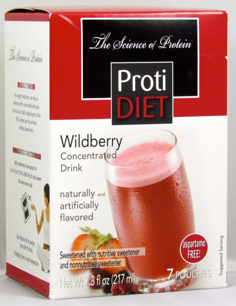 ProtiDiet Wildberry Drink Concentrate