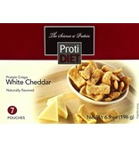 ProtiDiet White Cheddar Protein Crisps