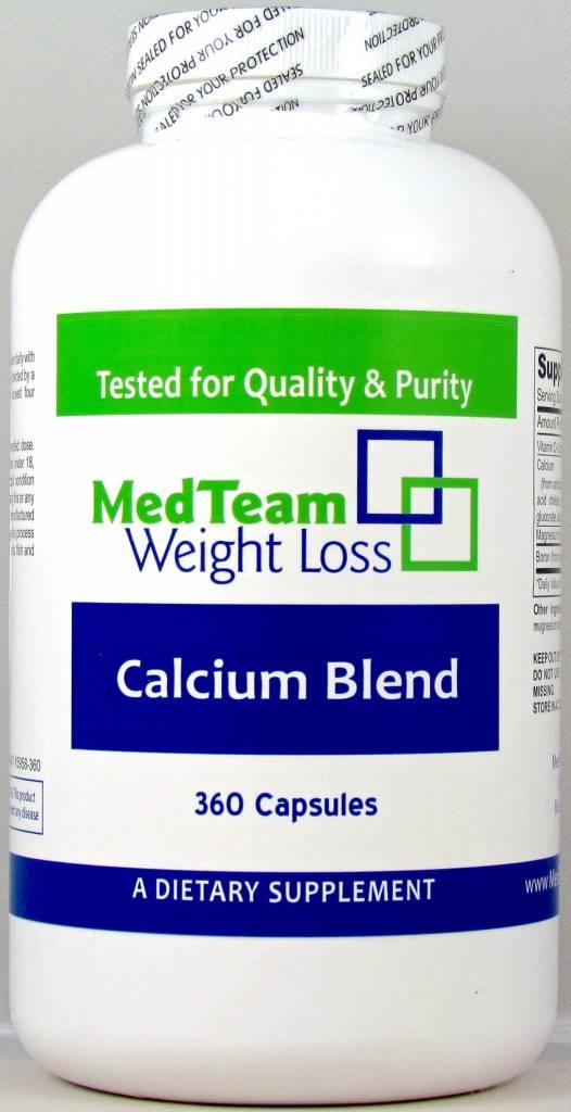 MedTeam Calcium Blend 360 Capsules