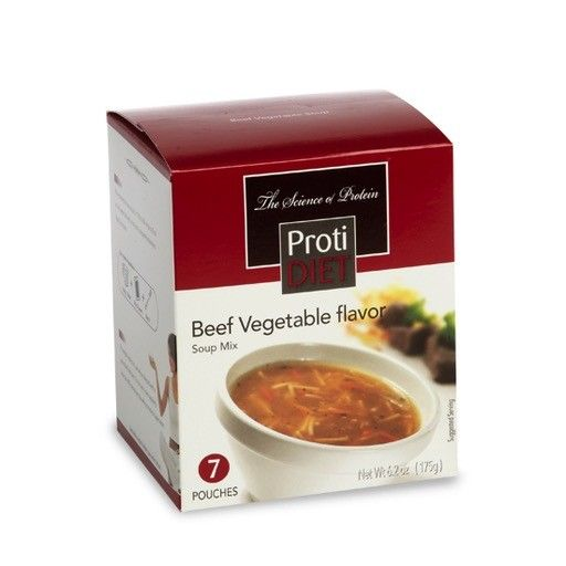 ProtiDiet Beef Vegetable Soup